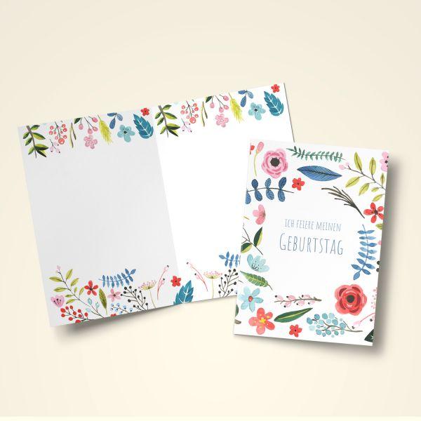 Einladungskarten Set 'Celebrate'