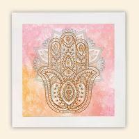 Wandbild 'Fatimas Hand'