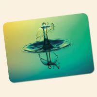 Bedrucktes 6-teiliges Tischset Drop Relax  Geist und Geschenk