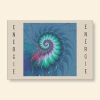 Grußkartenset bedruckt Fossil Energie Vertrauen Geist und Geschenk