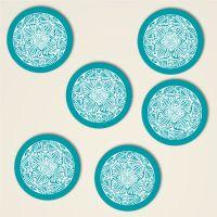 Untersetzer Set Mandala Motiv 'Shamanic'