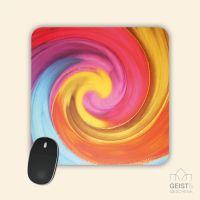 Mousepad Energiebilder 'Kindliches Erwachen' - 19x19cm