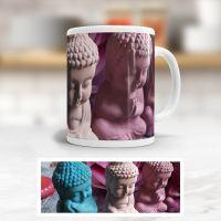 tasse bedruckt becher aniluap steinfiguren buddhas vorderseite geist und geschenk