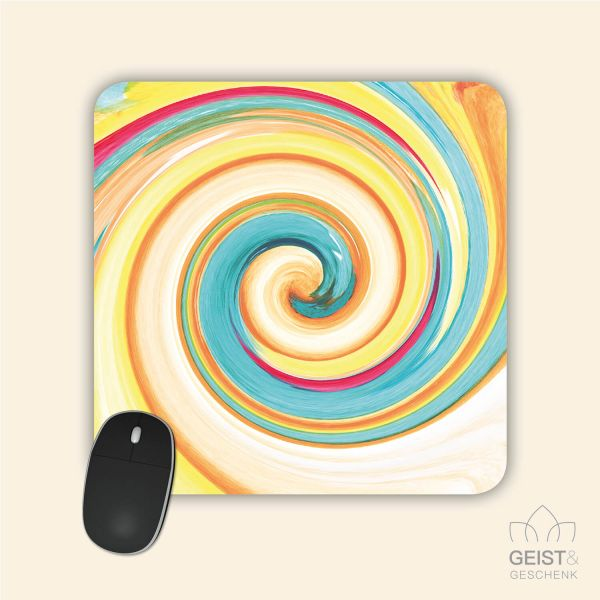 Mousepad Energiebilder 'Ich bin' - 19x19cm
