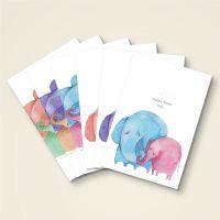 Always choose love grusskarte postkarten komplettset