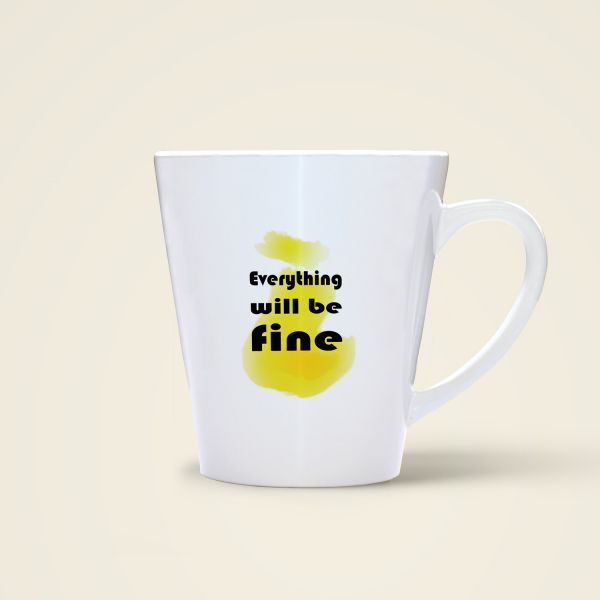 Tasse 'Everything will be fine'