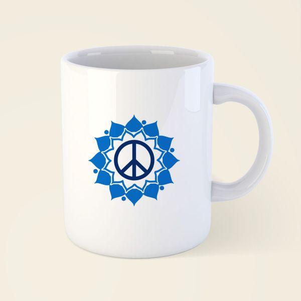 Tasse 'Peace Mandala'