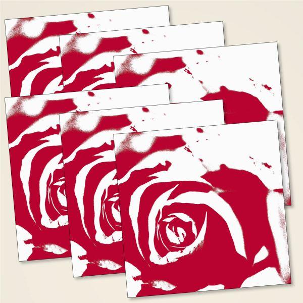 Karten-Set 'Rosentraum'