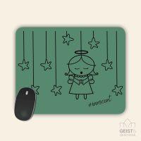 Mousepad bedruckt Angel Innocent Green Geist und Geschenk