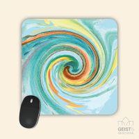 Mousepad Energiebilder 'Ausgeglichenheit' - 19x19cm