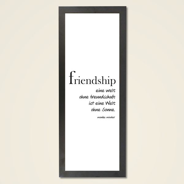 Wandbild 'Friendship'