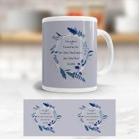 Tasse bedruckt   'Ein wahrer Freund', Geist und Geschenk, klassische Form