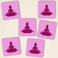Untersetzer aus Kork Buddha Geist und Geschenk