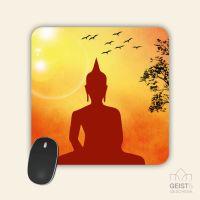 Mousepad bedruckt Buddha Sunset Geist und Geschenk