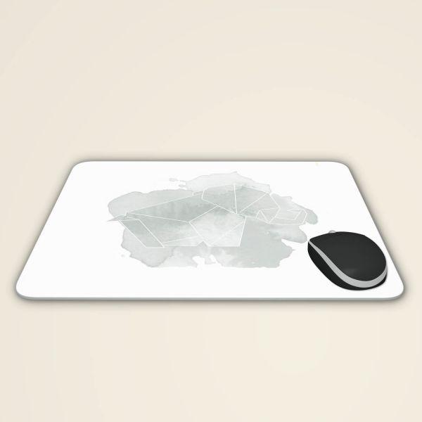 Mousepad online bestellen geist und geschenk origami elefant mauspad