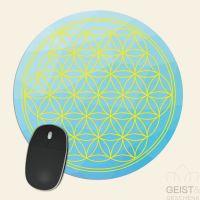 Mousepad-Blume-des-Lebens-Motiv-Himmel-bedruckt-1
