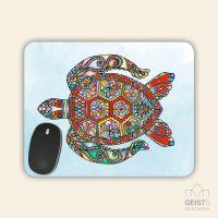 Mousepad rechteckige Form  Turtle Geist und Geschenk