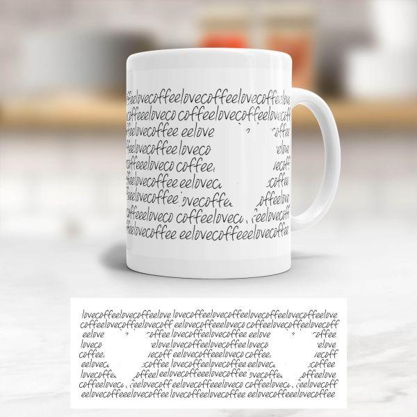 Tasse 'Love Coffee'