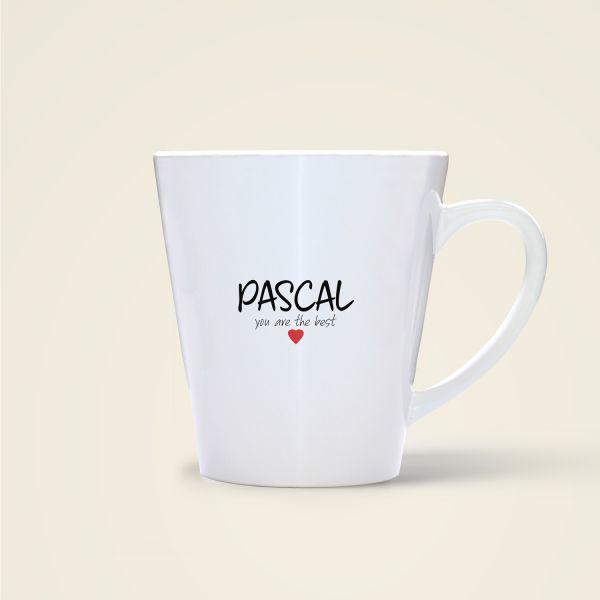 Pascal Tasse bedruckt Geschenk