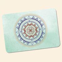 Bedrucktes 6-teiliges Tischset Mandala Classic Geist und Geschenk